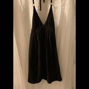 MODA International S Small Black Halter Dress
